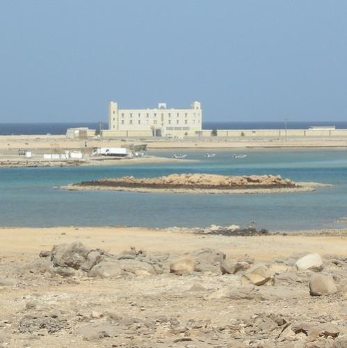 The Hotel Stretches Along The Beach Just  Meters Away And About  Kms From Ras Al Jinz Where Precious Turtle Movements Are Watched By Thousands Of